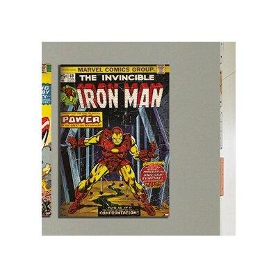 Graham & Brown Marvel Iron Man Vintage Advertisement on Canvas