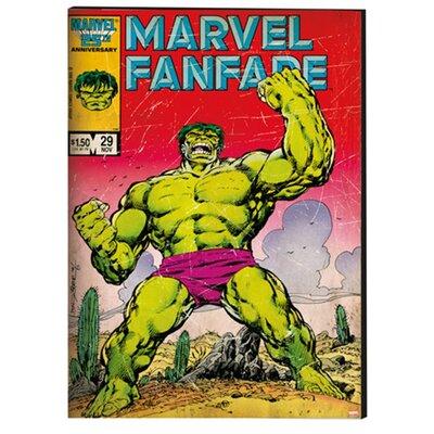 Graham & Brown The Hulk Printed Vintage Advertisement on Canvas
