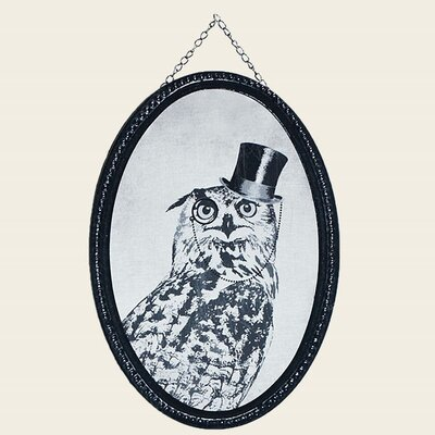 Graham & Brown Oswald Owl Framed Art Print
