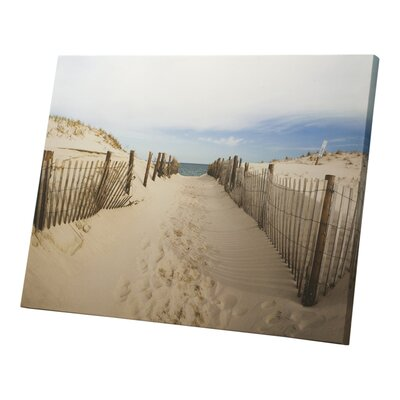 Graham & Brown Walk to the Beach Photographic Print on Canvas
