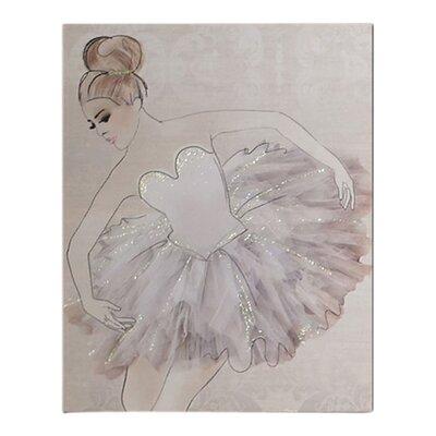Graham & Brown Classic Ballerina Art Print on Canvas