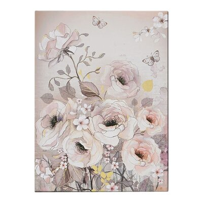 Graham & Brown Watercolour Bloom Graphic Art on Canvas