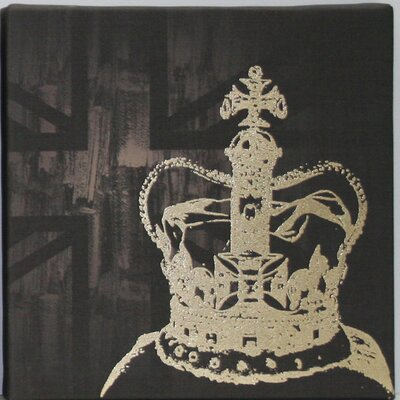 Graham & Brown The Coronation by Kelly Hoppen Graphic Art on Canvas