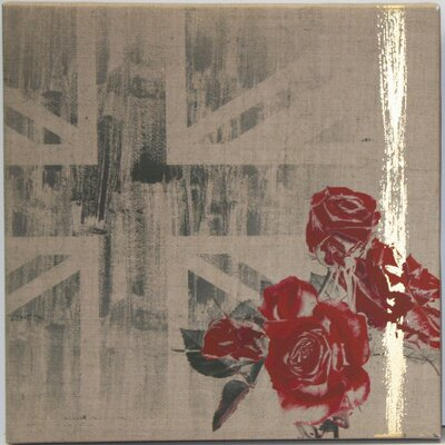 Graham & Brown Union Rose by Kelly Hoppen Graphic Art on Canvas
