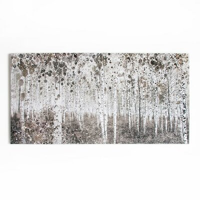Graham & Brown Dreaming in Watercolour Woods Art Print on Canvas