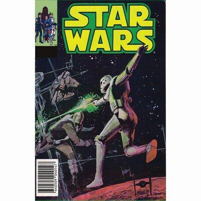 Graham & Brown Star Wars Stormtrooper Vintage Advertisement on Canvas