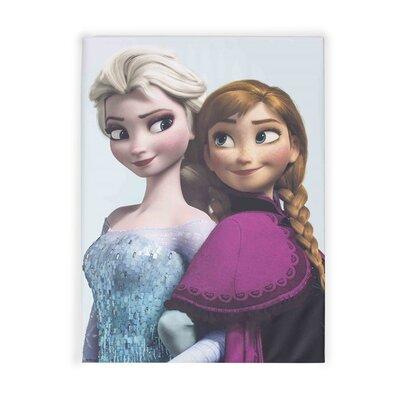 Graham & Brown Frozen Elsa and Anna Vintage Advertisement on Canvas