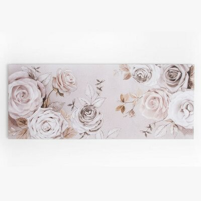 Graham & Brown Mixed Media Rose Trail Graphic Art on Canvas
