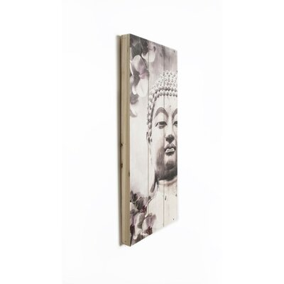 Graham & Brown Wooden Visions Buddha Graphic Art Plaque