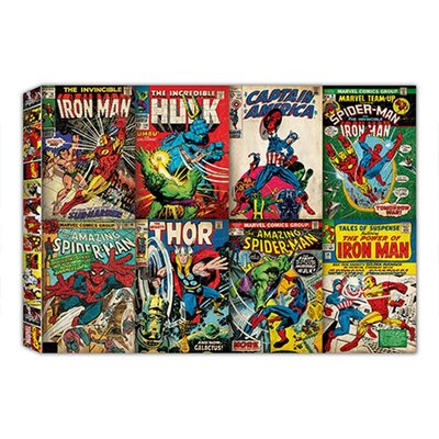 Graham & Brown Marvel Comic Vintage Advertisement on Canvas