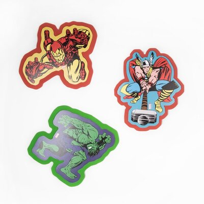 Graham & Brown Marvel 3 Piece Foam Wall Stickers Set