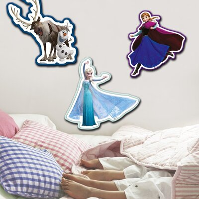 Graham & Brown Frozen 3 Piece Foam Wall Sticker Set