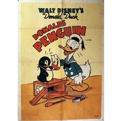 Graham & Brown Donald Duck Penguin Vintage Advertisement on Canvas