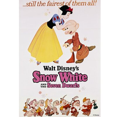 Graham & Brown Snow White Vintage Advertisement on Canvas