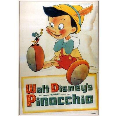 Graham & Brown Pinocchio Vintage Advertisement on Canvas