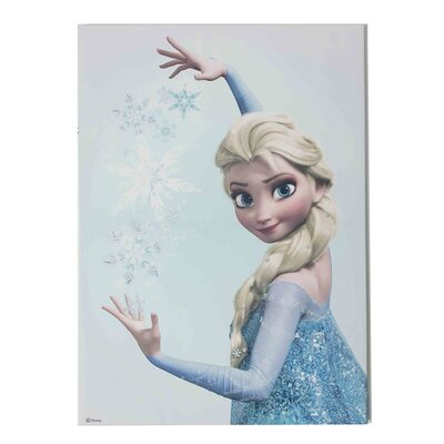 Graham & Brown Frozen Elsa Vintage Advertisement on Canvas