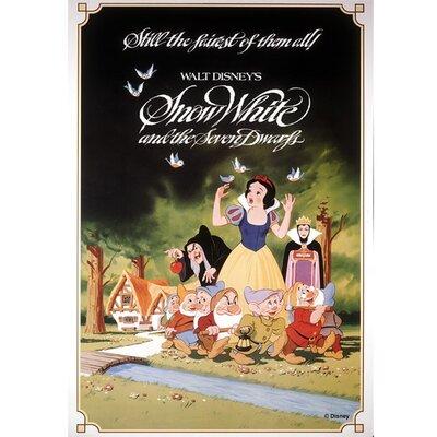 Graham & Brown Snow White Vintage Advertisement on Canvas