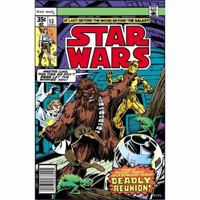 Graham & Brown Star Wars Deadly Reunion Comic Vintage Advertisement on Canvas