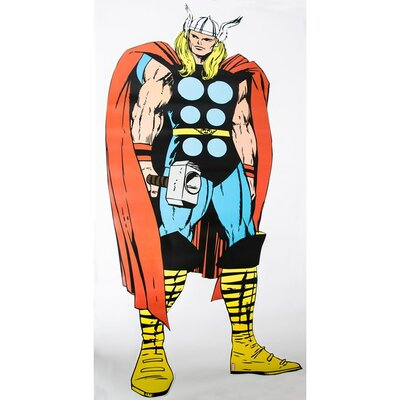 Graham & Brown Marvel Comics Life Size Thor Wall Sticker