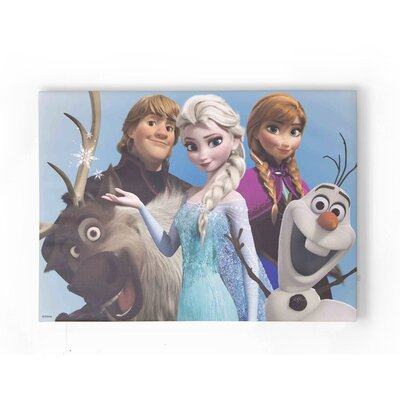 Graham & Brown Frozen Group Hug Vintage Advertisement on Canvas