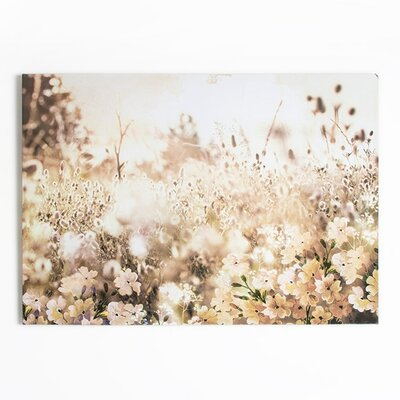 Graham & Brown Dreaming in Watercolour Layered Meadow Landscape Photographic Print on Canvas