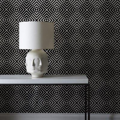 Graham & Brown Flock 10m L x 52cm W Roll Wallpaper