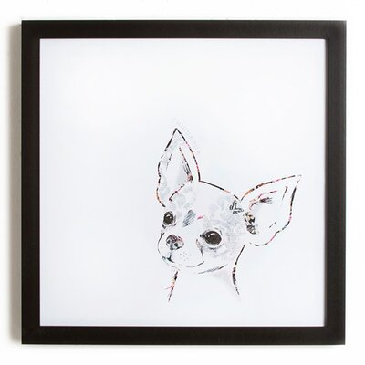 Graham & Brown Puppy Love Pickle the Chihuahua Art Print on Canvas
