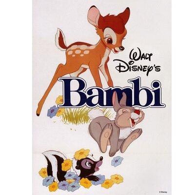 Graham & Brown Bambi Vintage Advertisement on Canvas