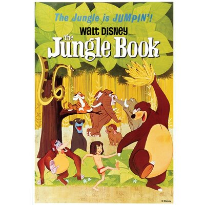 Graham & Brown Jungle Book Vintage Advertisement on Canvas