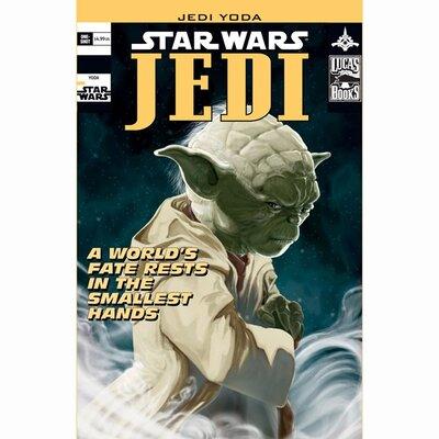 Graham & Brown Star Wars Jedi Vintage Advertisement on Canvas