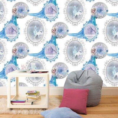 Graham & Brown Frozen 10m L x 53cm W Roll Wallpaper