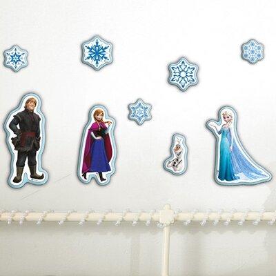 Graham & Brown Frozen 10 Piece Foam Wall Sticker Set