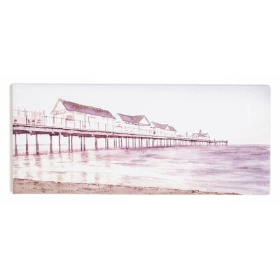 Graham & Brown Dreaming In Watercolour Boardwalk Art Print on Canvas