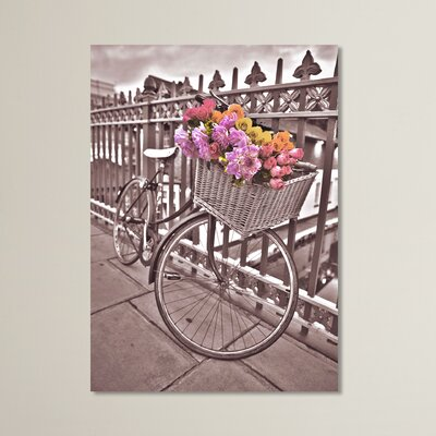 Graham & Brown Bicycle Photographic Print on Canvas