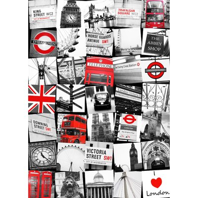 Graham & Brown London Montage Graphic Art on Canvas
