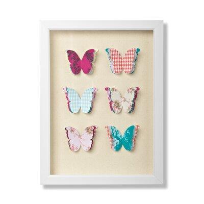Graham & Brown Butterflies Framed Graphic Art