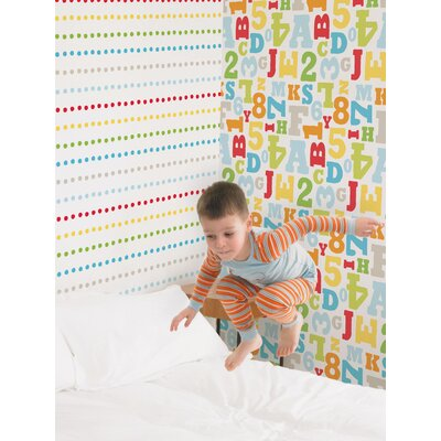 Graham & Brown Kids at Home 10m L x 52cm W Roll Wallpaper