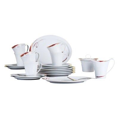 Seltmann Weiden Top Life Aruba 20 Piece Porcelain Dinnerware Set