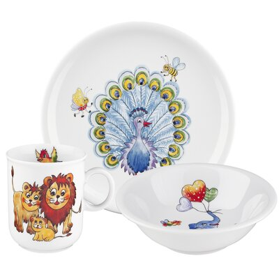 Seltmann Weiden Compact 3-Piece Children's Dinnerware Set