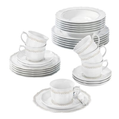 Seltmann Weiden Sonate 30-Piece Dinnerware Set