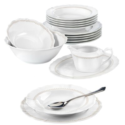Seltmann Weiden Sonate 16-Piece Dinnerware Set