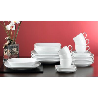 Seltmann Weiden Sketch 30 Piece Porcelain Dinnerware Set