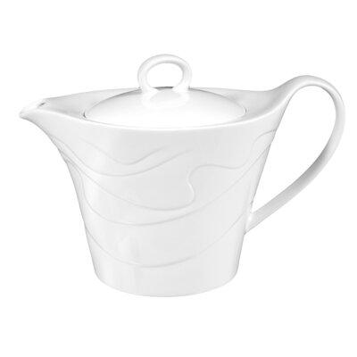 Seltmann Weiden Allegro White 1.25L Porcelain Teapot