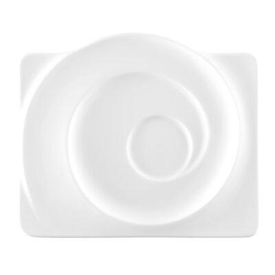 Seltmann Weiden Paso White Large Rectangular Saucer