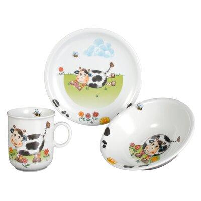 Seltmann Weiden Compact Cows 3 Piece Porcelain Place Setting