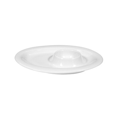 Seltmann Weiden Top Life White Egg Cup with Tray