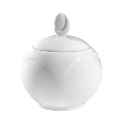 Seltmann Weiden Monaco White 250ml Sugar Bowl with Lid