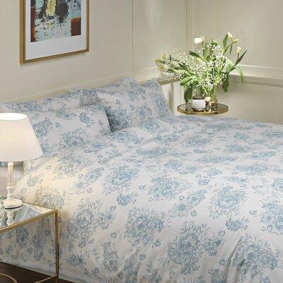 Moda De Casa Floral Lace Duvet Set