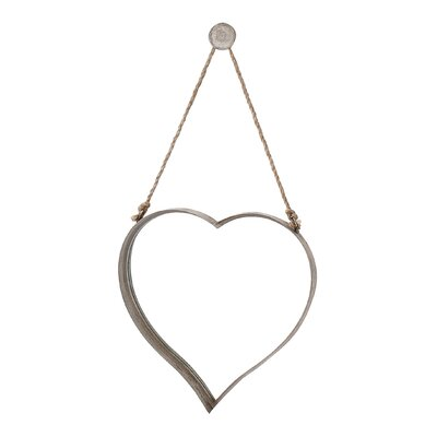 Gallery Metal Heart Mirror