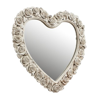 Gallery Roses Heart Wall Mirror